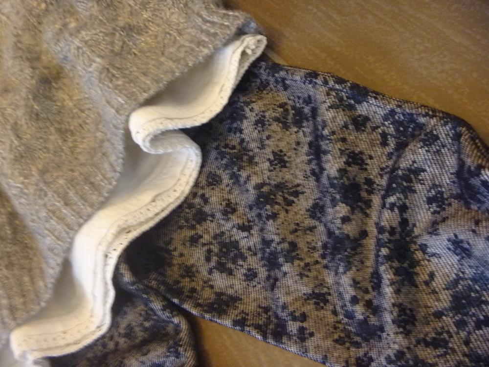 outfit baby, bimba, leggings pizzo e maglia lana traforata