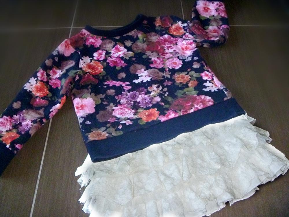 Felpa fiori Zara