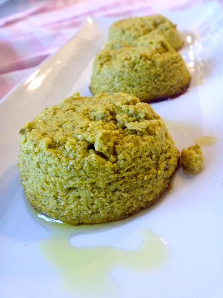 sformatini di verdure, broccoli, cavolfiore, patate, zucchine per un antipasto o un contorno delizioso fatto con il bimby