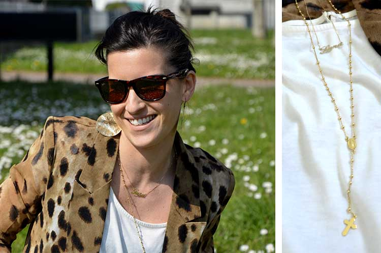animalier_blazer_woman_gold