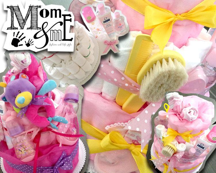 torte pannolini, diaper cake, idee regalo bimbi piccoli nascita con prodotti utili