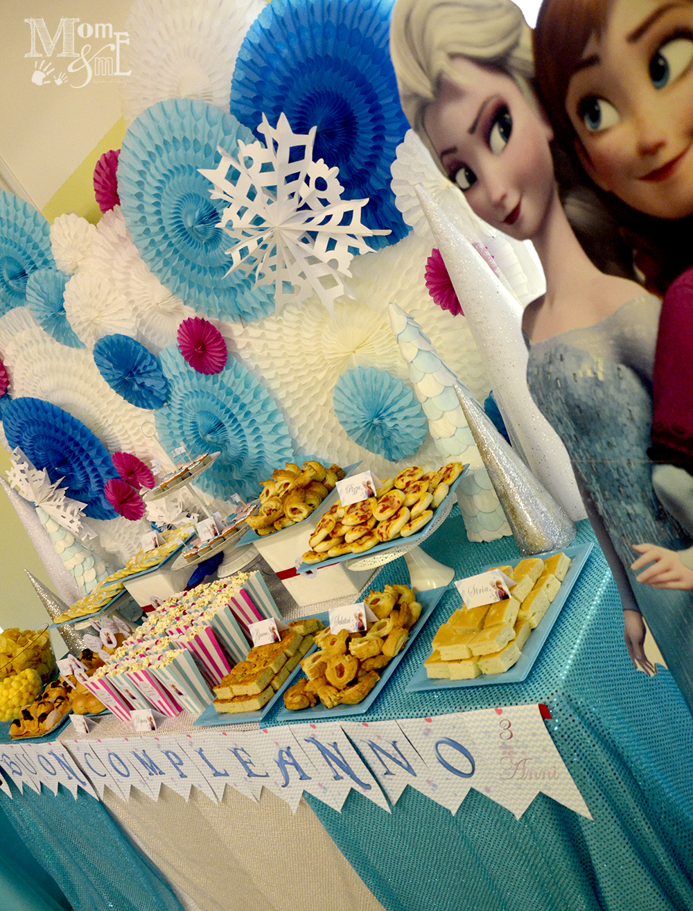 festa di compleanno party disney frozen con allestimento by sweetness and co eventi per momeme