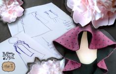 petite parisienne e momeme insieme nella prossima collezione autunno inverno 2014 bambina con un modello esclusivo in limited edition per mamma e figlie bambine rouche