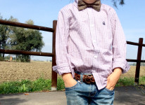 papillon_camicia_outfit_maschio_bimbo_jeans_country