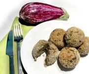 ricetta semplice e veloce per polpette di melanzane cotte al forno