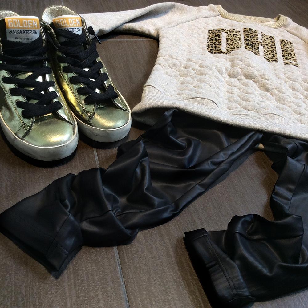 sneakers_golden_goose_oro_bambina_leggings_eco_pelle_felpa_zara_ohi_animalier