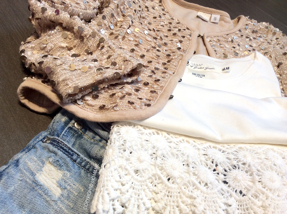 short_jeans_bambina_look_cardigan_iDo_t-shirt_pizzo_H&M_momeme