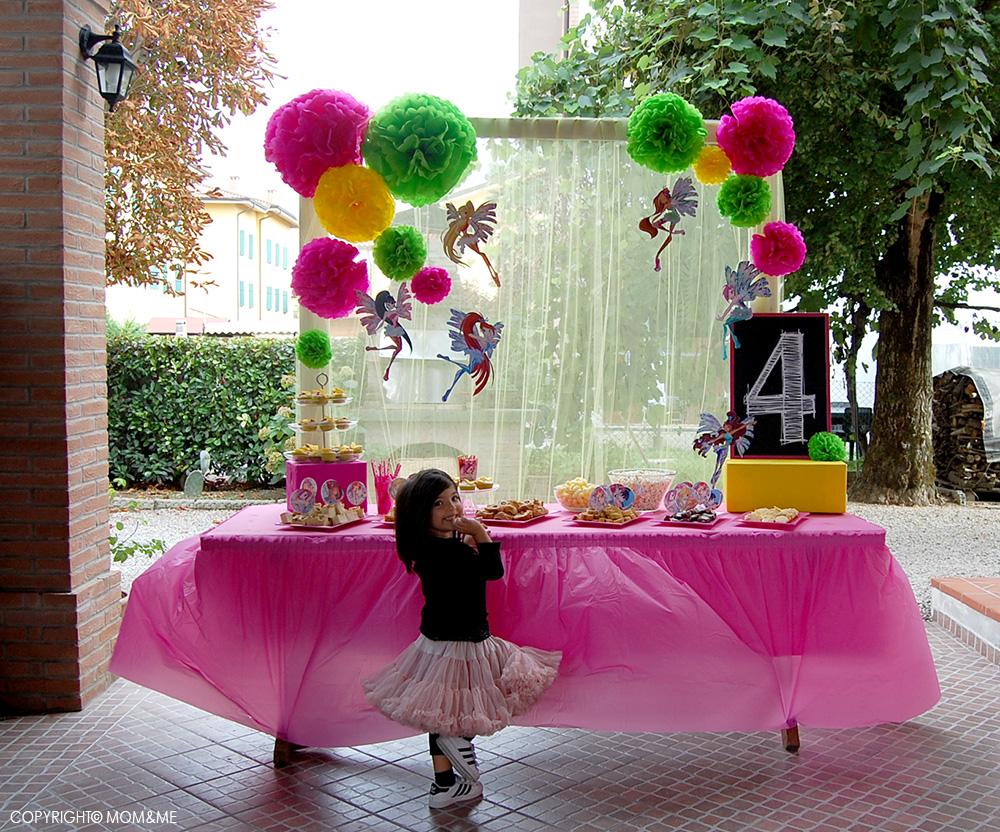Organizzare Compleanno Mamma.Festa Di Compleanno Winx