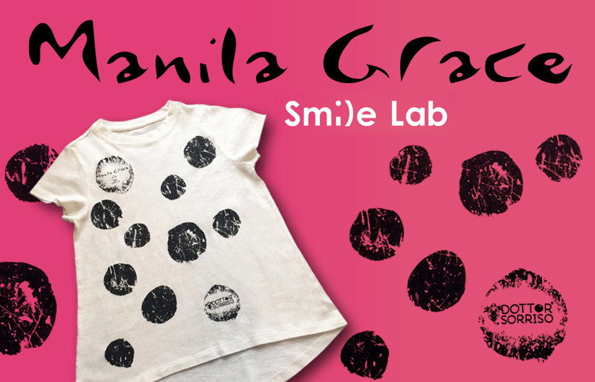Manila_Grace_Smile_Lab_dottor_sorriso_t-shirt_charity_solidarietà_momeme