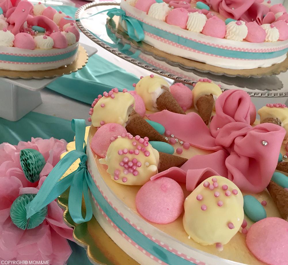 battesimo_dolce_torta_gelato_rosa_tiffany_marshmallow_cricri_momeme
