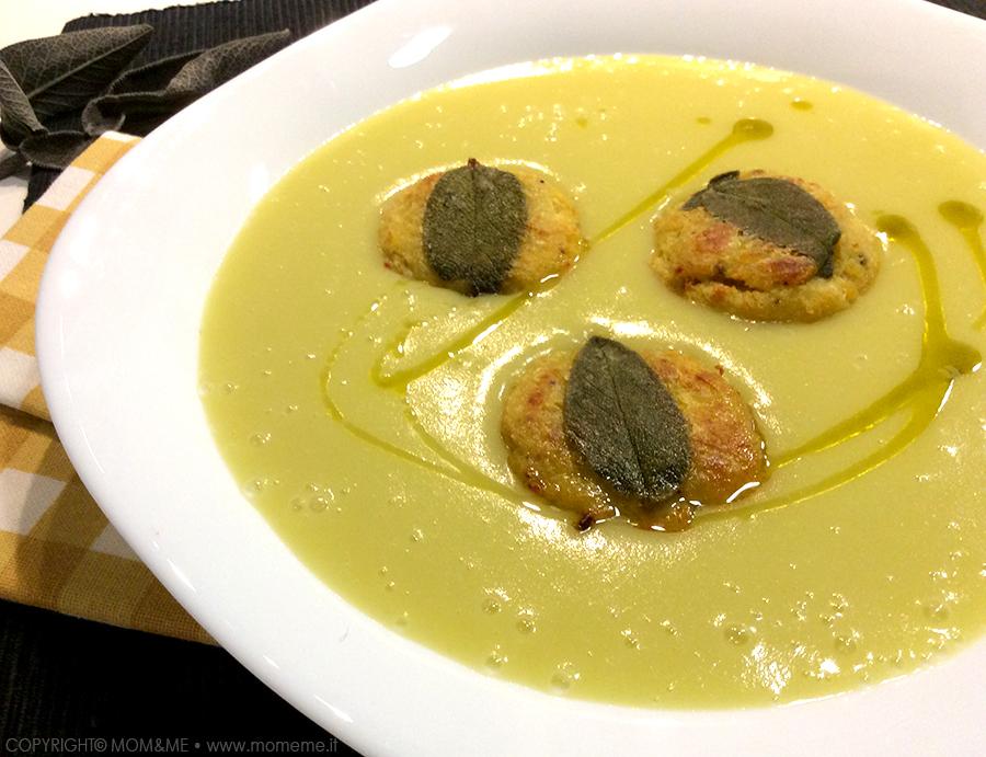 vellutata_crema_patate_polpette_pesce_salvia_piatto_unico_saporito_equilibrato_momeme