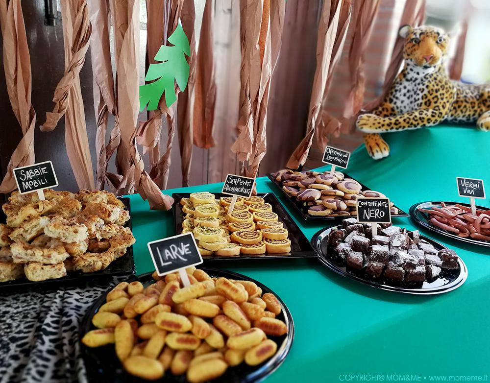 Favori Buffet Di Compleanno Per Bambini. Affordable Buffet Decorato Per  ED09